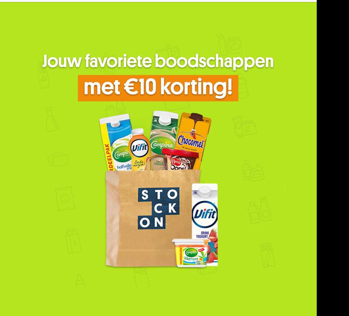 €10;- korting bij Stockon bij € 25,00 alleen nieuwe klanten @ eurosparen