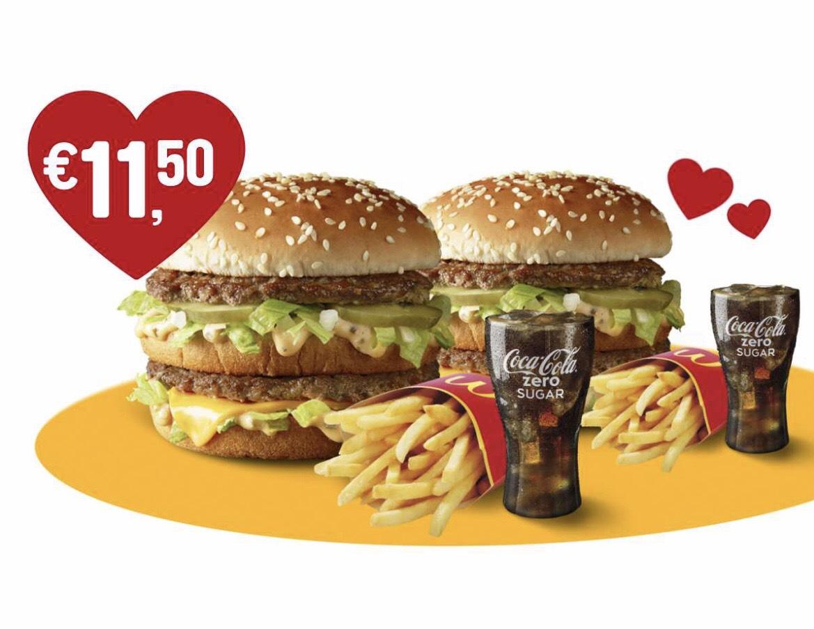 2x Big Mac Menu @ McDonald's