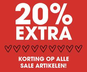 Sale: 20% EXTRA korting @ Ziengs