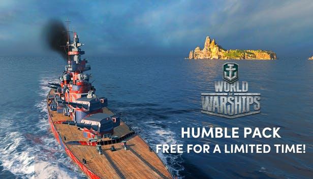 World of Warships Humble Pack gratis @ humblebundle