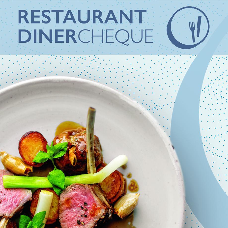 Restaurant Dinercheque t.w.v. 20 euro voor 20 Eurosparen-euro's