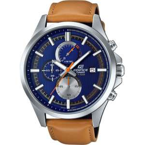 Casio Mens Edifice Watch EFV-520L-2AVUEF voor €78,91 @ Watches2u