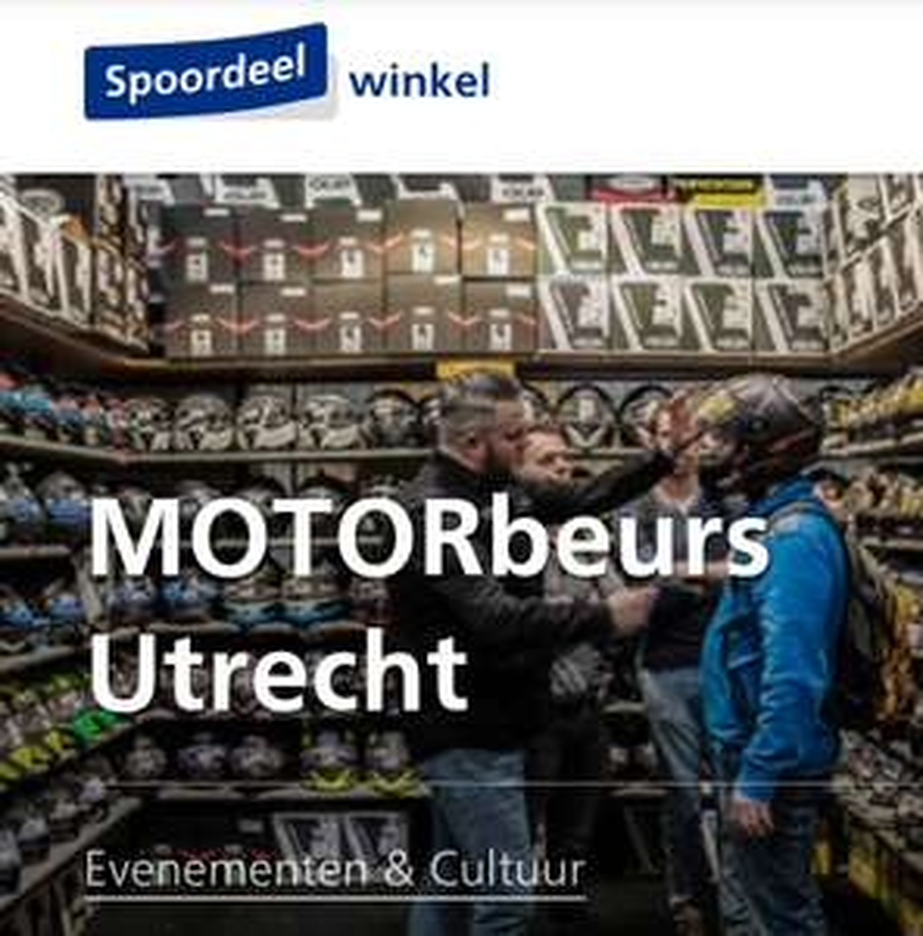 Motorbeurs + Retourticket @NS.nl