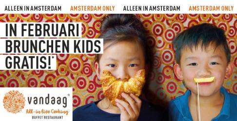 Restaurant Vandaag: In februari brunchen Kids Gratis (020)