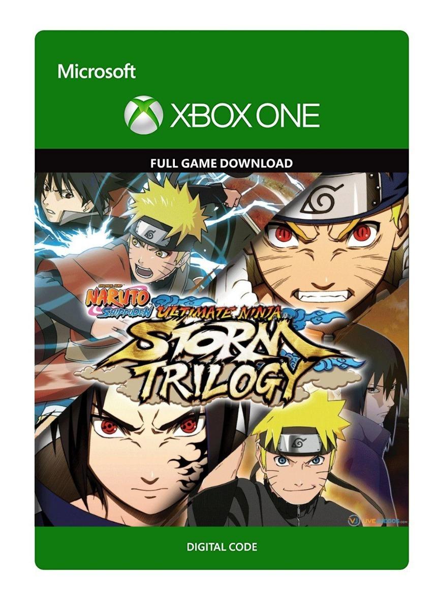 Naruto Shippuden: Ultimate Ninja Storm - Trilogy voor €10 @ Xbox Store