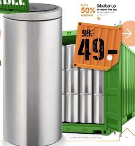 Brabantia afvalemmer 30liter flat top [Start 18.02]