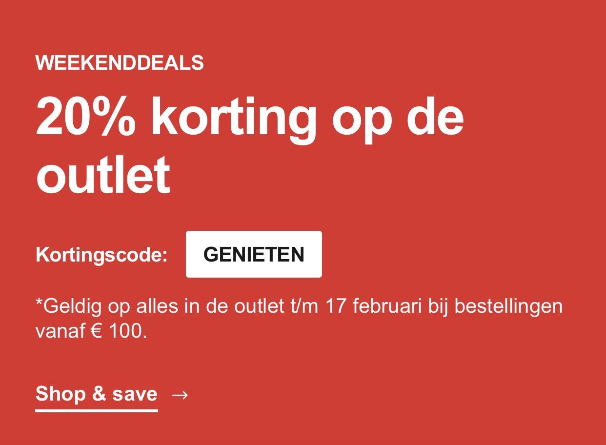 20% Extra Korting Op de Sale (Vanaf €100 Besteding) @ Zalando