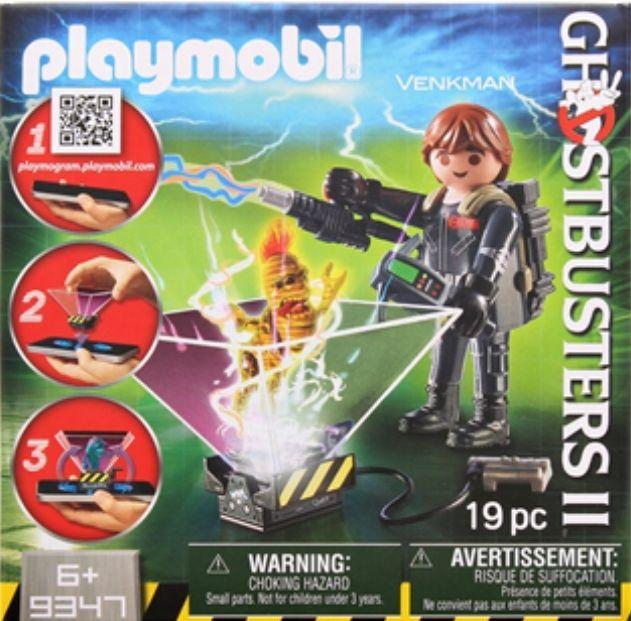 Verschillende Playmobil Ghostbuster sets bij Action