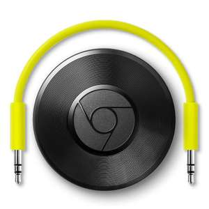 2x Chromecast Audio voor 40 pond (45,90 EUR) @ mymemory.co.uk