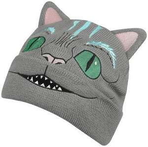 Alice in wonderland - Cheshire cat Beanie 75% korting