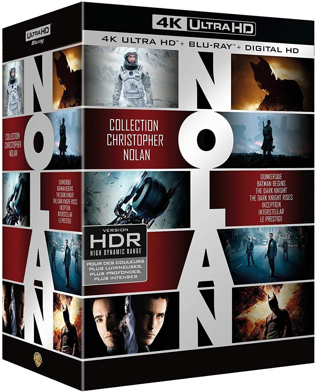 UHD blu-ray nolan pack 7 films