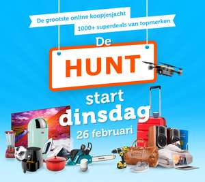 iBood Hunt start 26 Februari 2019