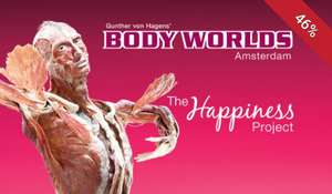Bodyworlds Amsterdam 50% korting