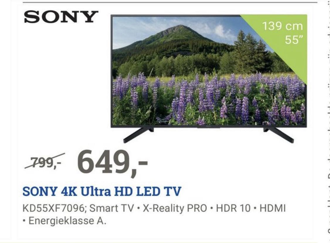 Sony kd55xf7096