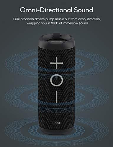 Tribit 24W Bluetooth speaker met surround-sound en IPX7 voor €48,99 @ Amazon.de
