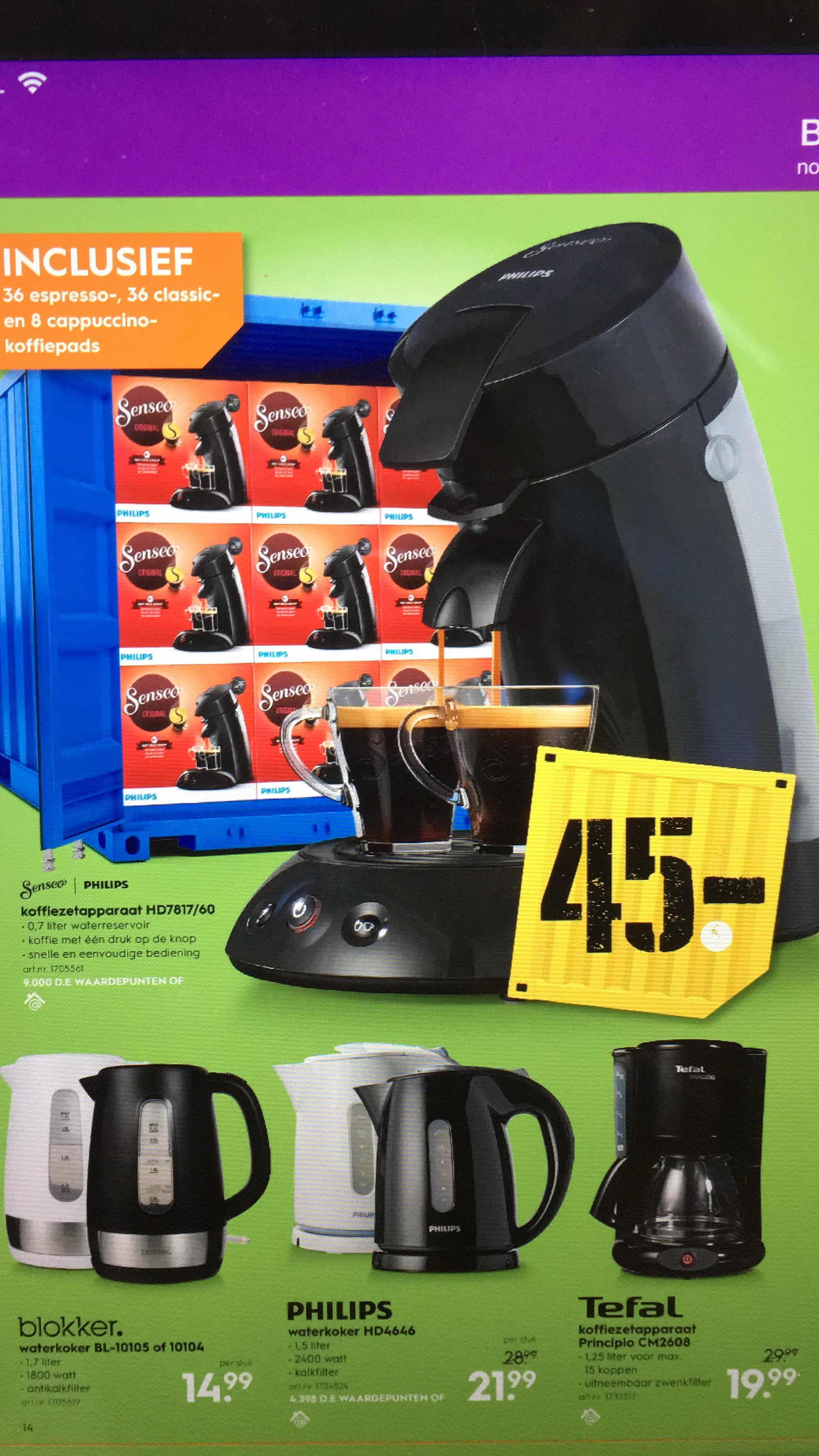 Senseo koffiezetapparaat HD7817/60