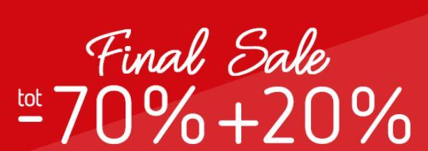 Sale tot -70% + 20% extra met code @ Kleertjes.com