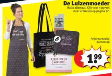 De Luizenmoeder merchandise va €1,99 @ Kruidvat