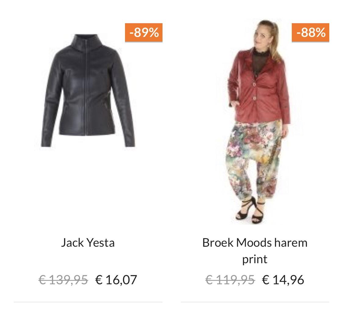 [SALE] tot wel 90% op dameskleding @ Bagoes.nl