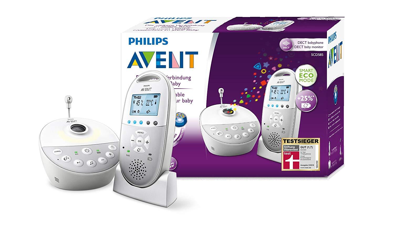 Philips Avent Baby-producten deals: Philips AVENT DECT-babyfoon & sterrenhemel 99,99