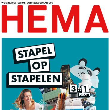 Via &Meer-app van ABN AMRO 10% korting op HEMA bestelling
