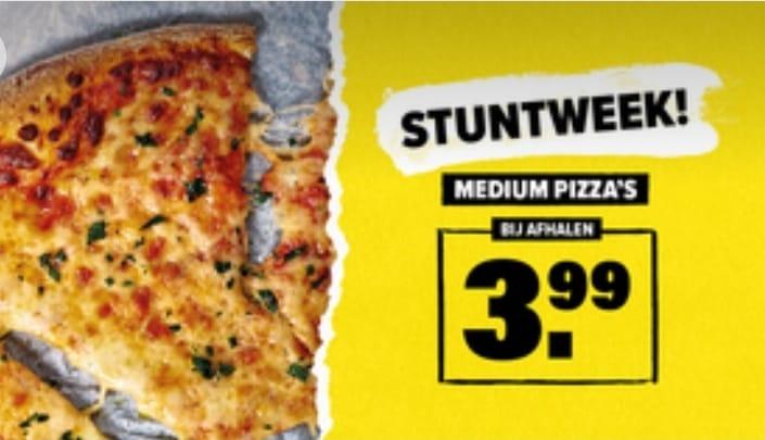 Domino's Pizza Stuntweek 11 t/m 17 maart
