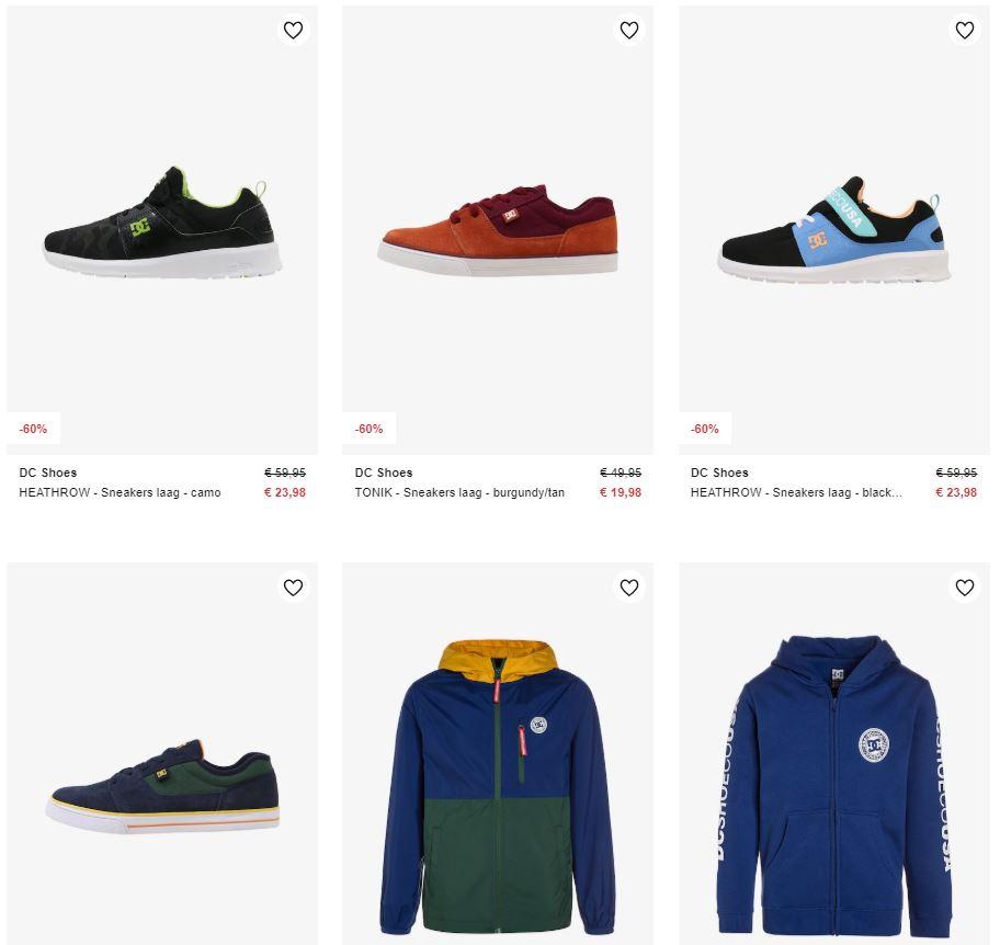DC sneakers en kleding kids -60% @ Zalando
