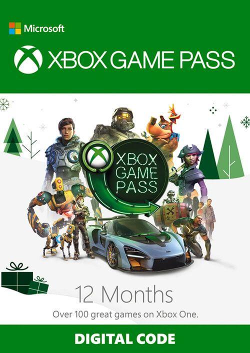 Xbox Game Pass 12 maanden (nieuwe en bestaande)