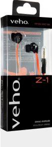 Veho Z-1 - In-ear hoofdtelefoon voor €4,95 @ Azerty