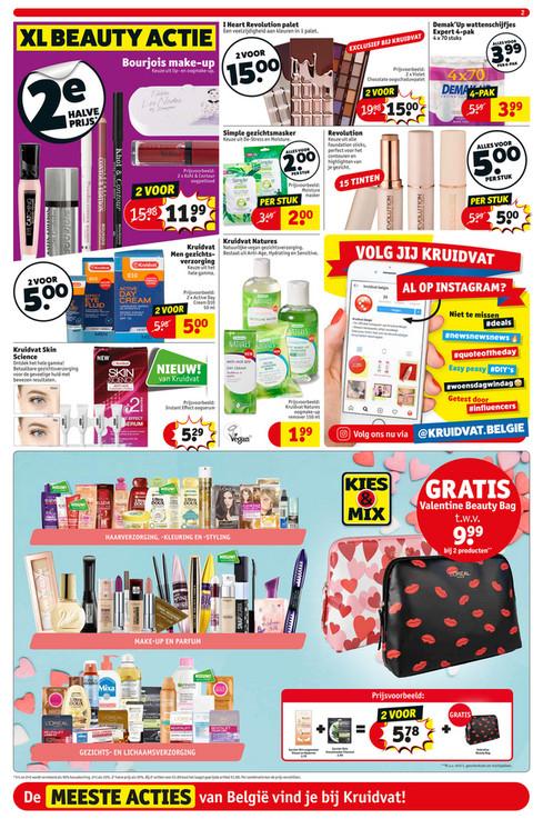 shampoo 100 procent terugbetaald(waarde 3,79+4,99) voor kruidvat Belgie
