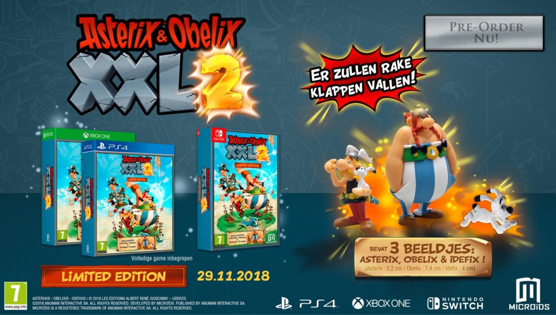 Asterix & Obelix: XXL 2 Limited Edition vanaf €25,50 @ Coolshop