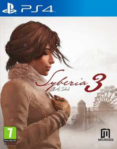 Syberia 3 (PS4) voor €9,99 @ Coolblue