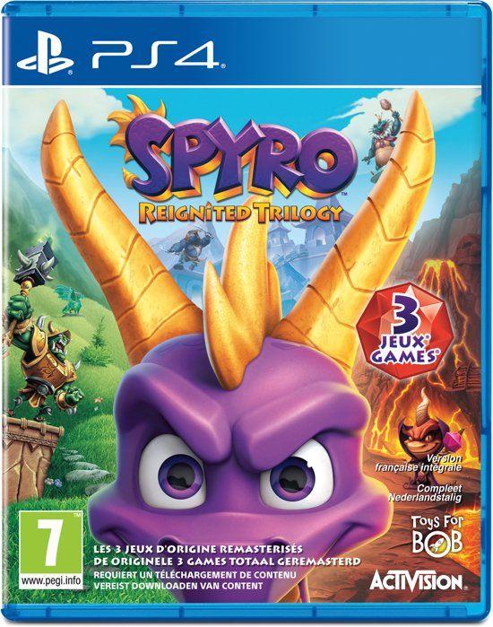 Spyro Reignited Trilogy - PS4 & XboxOne