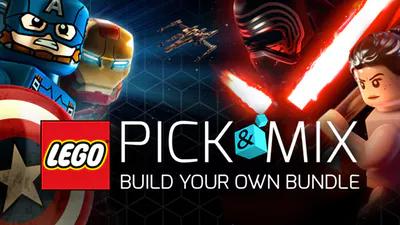 Lego PIck & Mix @ Fanatical! 3 Lego games naar keuze voor 12,79