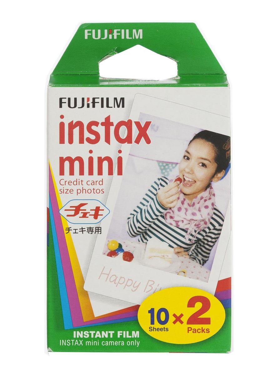 Instax Filmpjes (2 packs) 2+1 Gratis (Colorfilm Instax mini Glossy) 60 filmpjes voor 33 euro bij HEMA