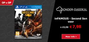 inFAMOUS Second Son (PlayStation 4 Hits) voor €7,98 @ Game Mania