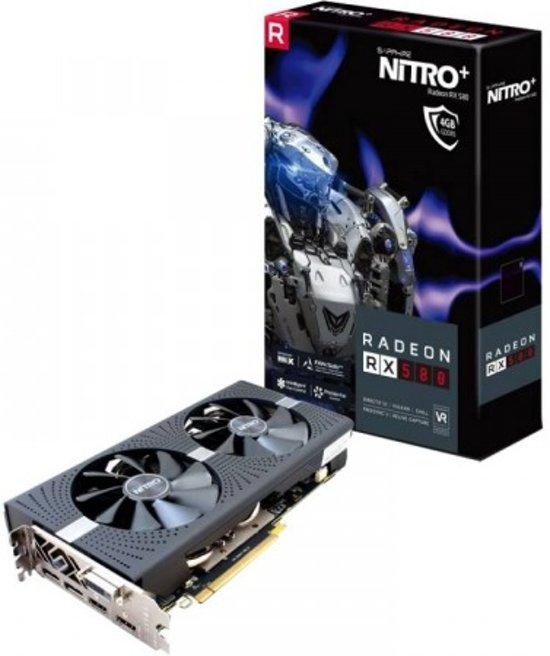 Sapphire RX 580 Nitro+ 4 GB bij Amazon.de