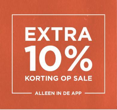 Actie: 10% EXTRA korting op de sale (in app) @ Scotch & Soda