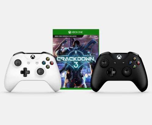 Crackdown 3 + Xbox Wireless Controller Bundle voor €74,65 @ Microsoft UK