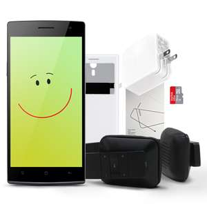 Oppo Find 7a Reloaded (iLike Bluetooth Headset  + Easy Cover + Screen Protector) €249