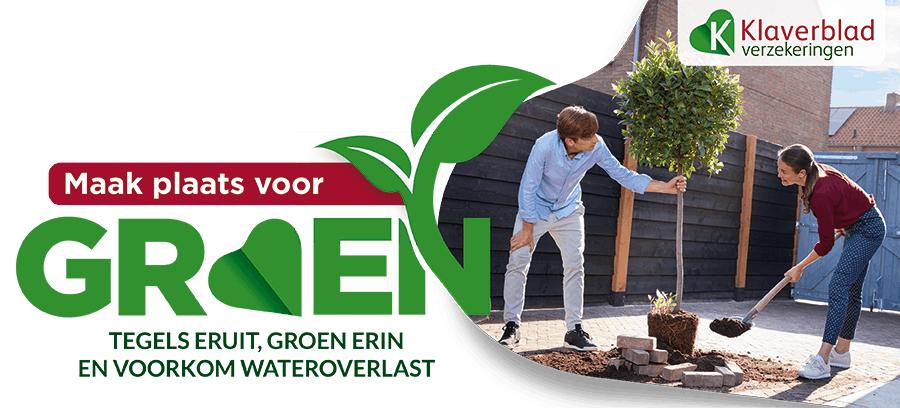 Als (nieuwe) verzekerde bij Klaverblad woonhuis of inboedel: groen-actie, ontvang Intratuin Groenbon t.w.v. €100