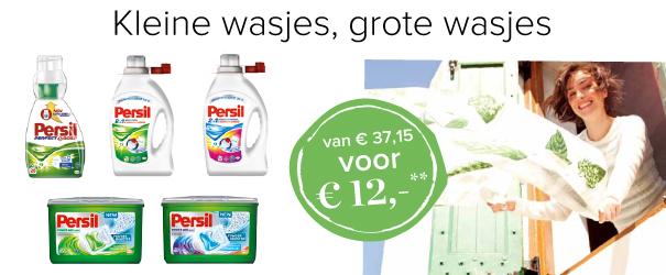 persil wasmiddelenpakket a 12 euro (+4,95 verzendkosten). kost normaal €37,15