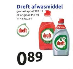 Dreft afwasmiddel (action)