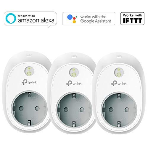 3-pack TP-Link HS100 - Wifi Smart Plug - Werkt met Google, Alexa & IFTTT
