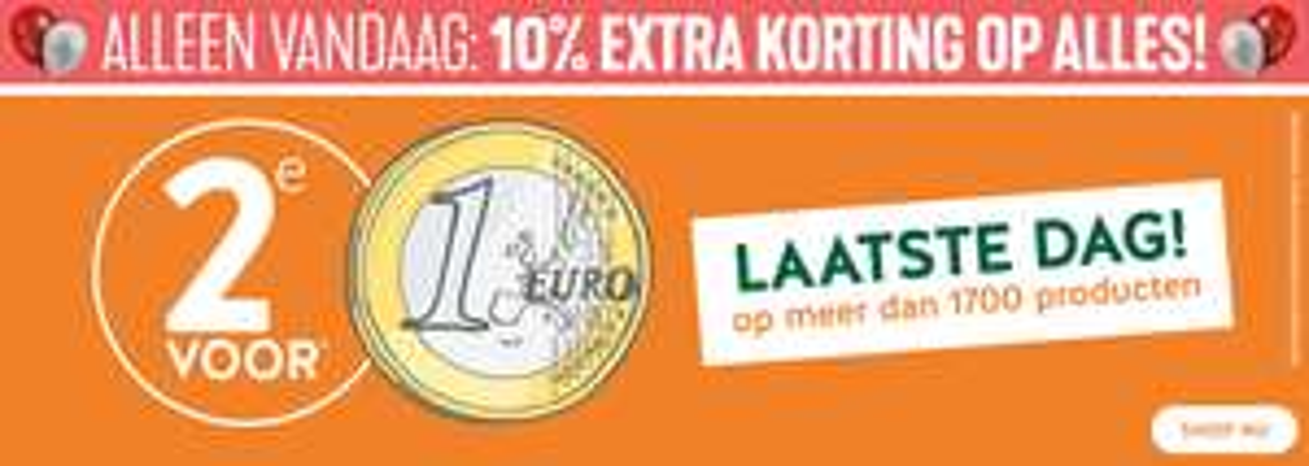 Holland & Barrett: Alleen vandaag 10% extra korting op alles