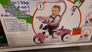 Little tikes 4 in 1 driewieler 50% @Intertoys alleen in winkel