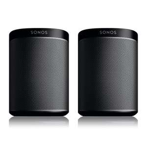 Sonos PLAY:1 Zwart (2-pack)
