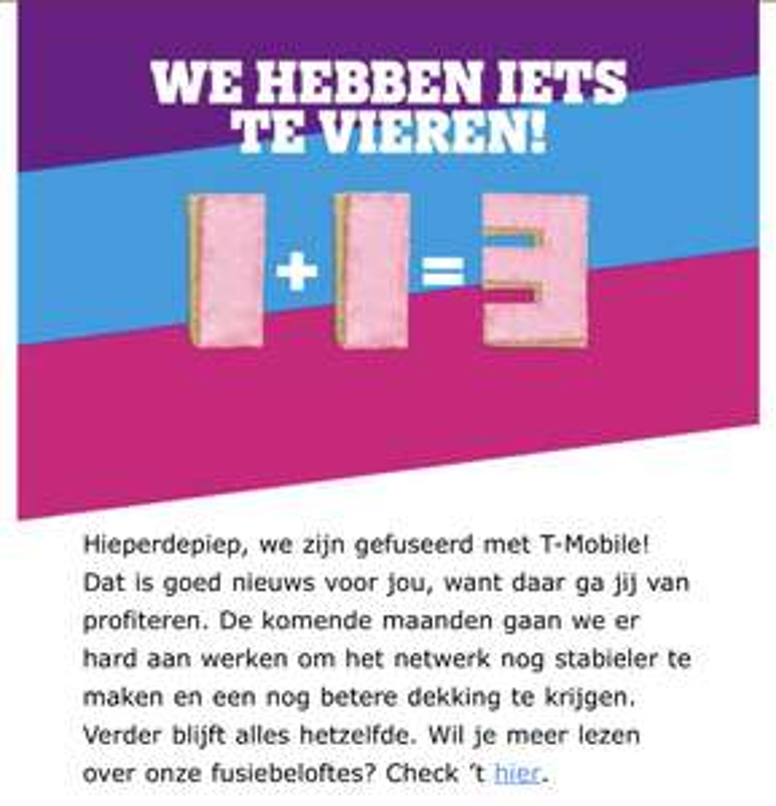Gratis 3 Hema Tompoucen voor Tele2 klanten
