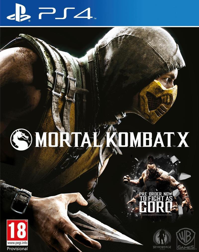 Mortal Kombat X (PS4/Xbox One) voor €34 @ Amazon.it