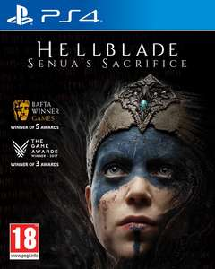 Hellblade: Senua's Sacrifice (PS4) disc